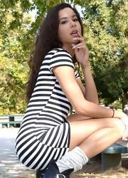 Bella Looks Cute In Her Dress - Picture 3